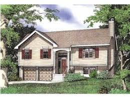 Split Level House Plans at eplans com   House Design PlansBLUEPRINT QUICKVIEW  middot  Front