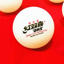 <b>30 balls</b>/ <b>60 balls DHS</b> 3 star D40+ <b>table</b> tennis ball Original 3 star ...