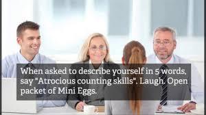 20 hilarious job interview hacks 20 hilarious job interview hacks