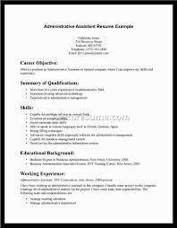 administrative assistant resume description s assistant sample resume resume exles administrative assistant