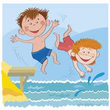 Image result for lake jump clip art