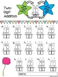 Two-Digit Addition Worksheets {with and without regrouping ...Two-Digit Addition Worksheets {with and without regrouping}