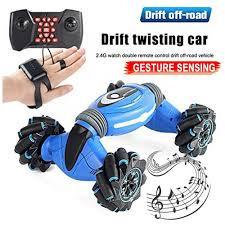 Gesture Sensin Stunt <b>RC Car 2.4G</b> 4WD Twisting Off-Road Remote ...