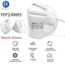 FFP2 N95 KN95 MASK Anti-Fog FFP2 Dust Mask Child Adult ... - Vova