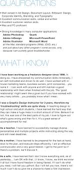 shauna jarvis lance graphic designer resume graphic design fashion