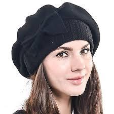 F&N STORY <b>Lady</b> French <b>Beret</b> Wool <b>Beret</b> Chic Beanie Winter <b>Hat</b> ...