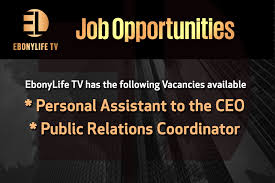 vacancies ebonylife tv vacancies