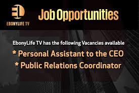 vacancies ebonylife tv vacancies