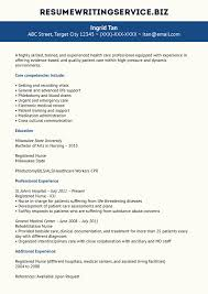 sample resume for new rn resume and cover letter examples and sample resume for new rn sample resume templates com our experienced nurse resume example resume writing