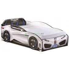 <b>Кровать машина Cilek spyder</b> car white - купить недорого / Цена ...