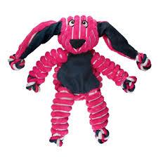 """<b>Kong игрушка</b> для собак """"Кролик"""", малый 23*14 см, <b>Floppy Knots</b>"""