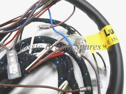 bsa lucas cloth bound wiring harness 54953385 19 0947 1968 a50 a50 bsa genuine lucas cloth bound wiring harness 54953385 19 0947 1968 a50 a65