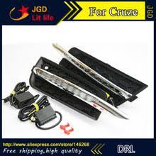 Бесплатная доставка! 12V 6000k LED DRL <b>дневные ходовые</b> ...