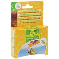 <b>Корм</b> для рыб <b>Tetra FreshDelica Daphnia</b> 48г желе дафнии купить ...