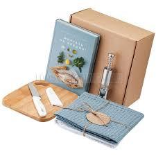 Подарочный наборы бамбуковые голубые COOK EAT для тех ...
