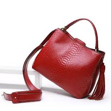 Ruby Luxury Leather Handbag | Red Alert | Leather handbags, Bags ...