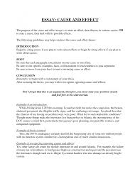 resume poem analysis causal essay sample cause and effect essay  causal essay sample cause and effect essay format cause and effect