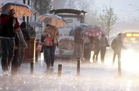 İstanbul'a şiddetli Sağanak yağmur uyarısı