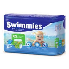 Подгузники-<b>трусики</b> для плаванья <b>Swimmies</b> (Суиммиз) X-Small ...
