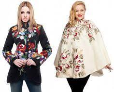 варианты пальто с выш: лучшие изображения (22) | Embroidery ...