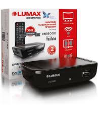 Ресивер телевизионный <b>DV1110HD LUMAX</b> 7310774 в интернет ...