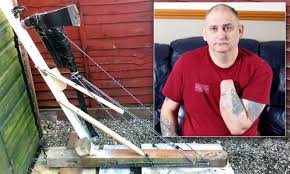Father builds guillotine and chops off own hand in bid to end years ...