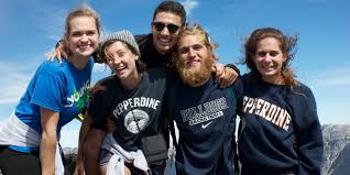 Top    Universities   Pepperdine University   Seaver College         Pepperdine University        Year in Review