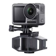 for DJI OSMO Action Camera <b>Vlog</b> Connected Mic <b>Mount Bracket</b> ...