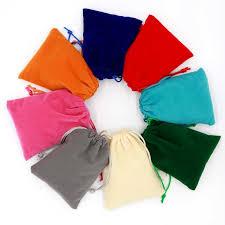 10pcs/lot Small <b>Velvet Bag 5x7 7x9 9x12cm</b> Earrings Charms ...