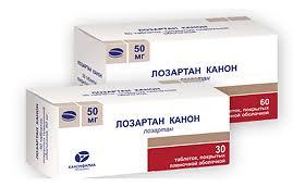 <b>Лозартан Канон</b> таблетки покрыт.плен.об. <b>50 мг</b>, 30 шт. - купить ...