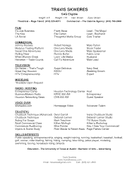 resume sample acting resume acting_resume9 resume format for actors audition resume format
