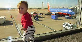 Image result for too much luggage pictures at airport and a baby