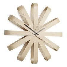 <b>Часы настенные Ribbon</b> дерево купить в интернет-магазине ...