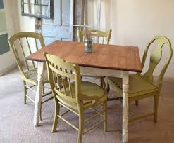 small dining tables sets: small country kitchen table set c x vintage small kitchen table with four miss matched chairs