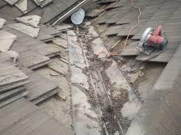 roof repair place: debris  tilevalleyinfirstplace debris