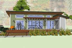 Small House Plans   Houseplans comSignature Modern Cottage designed home  front elevation