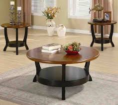 3 piece living room table sets casual living room lots