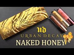 Urban Decay NAKED HONEY Collection: Real Swatches & Review ...