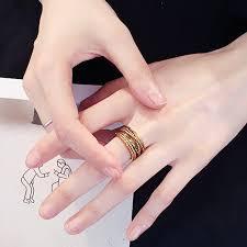 <b>2019 Hot Sale</b> Hand Jewelry Men's Ring <b>Personality</b> Retro Hemp ...