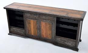 reclaimed painted sideboard with wine racks wooden sideboard furniture