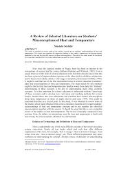 (PDF) A <b>review</b> of selected literature on students' misconceptions of ...