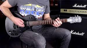 <b>EPIPHONE</b> GOTHIC <b>LP</b> STUDIO BK SBHD - Demo Guitar - YouTube