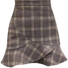 <b>Yfashion 2019 New</b> Women Skirt Autumn Winter High Waist Woolen ...