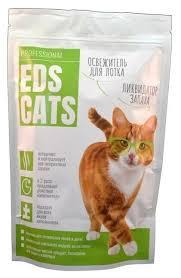 Купить <b>Ликвидатор запаха Eds</b> Cats для кошачьего туалета, 400 г ...
