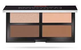 <b>CONTOURING and STROBING</b> – Compact palette to illuminate face ...