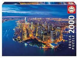 <b>Пазл Educa</b> Нью-Йорк с высоты птичьего полета (16773), <b>2000</b> дет.