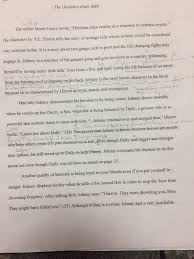 th grade english final drafts the final draft should have had all necessary corrections using my feedback students did not have to incorporate their peers edits but