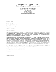 employment cover letter example for template employment cover letter example for