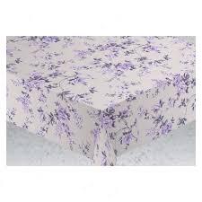 <b>скатерть ALBA</b> Вальс цветов 140х180см фиолетовая хлопок 80 ...