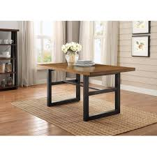 espresso wooden rectangle dining